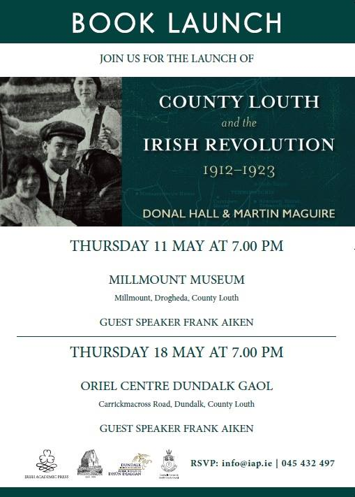 Louth & Irish Revolution 1912-23 book launch