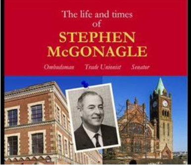Stephen McGonigle review & book launch